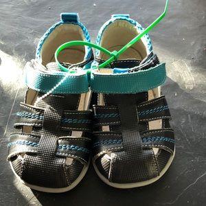 See Kai Run boys sandals.